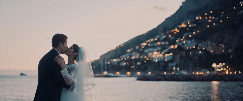 wedding video on amalfi coast