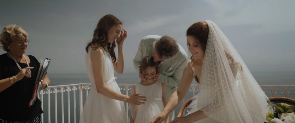 wedding videography positano